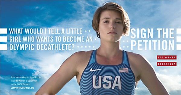 Let Women Decathlon campaign | Communication Arts