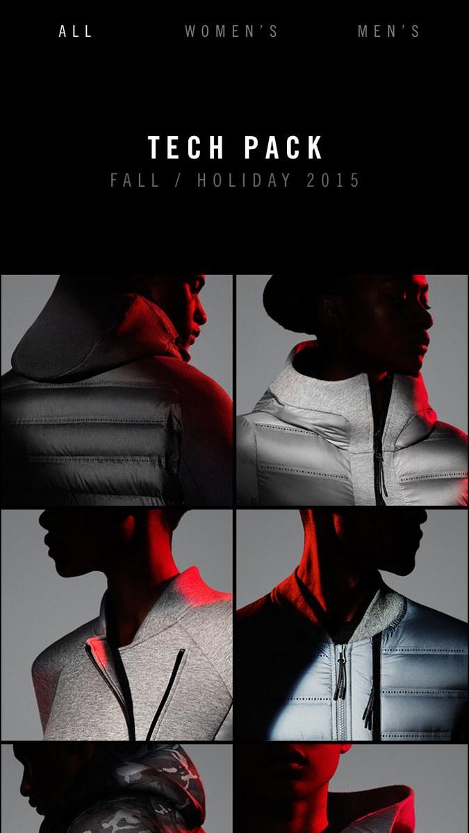 Nike Tech Book app design  87466be108d6