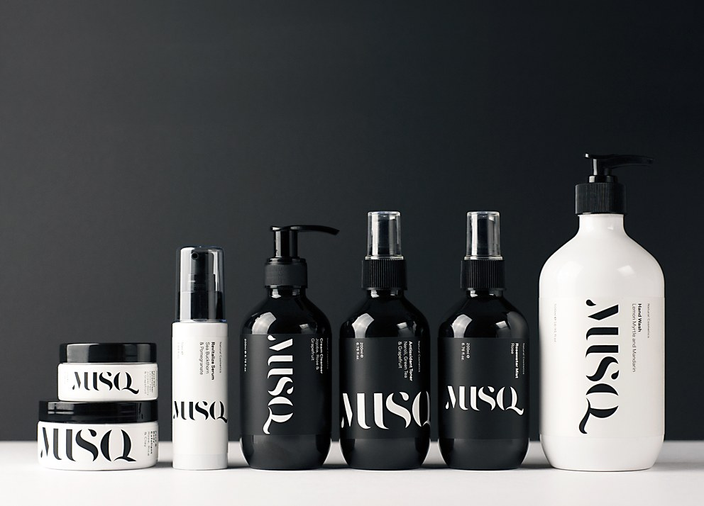 Musq Packaging Communication Arts
