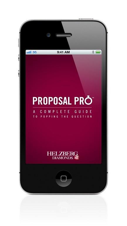 Helzberg Diamonds Proposal Pro app   Communication Arts