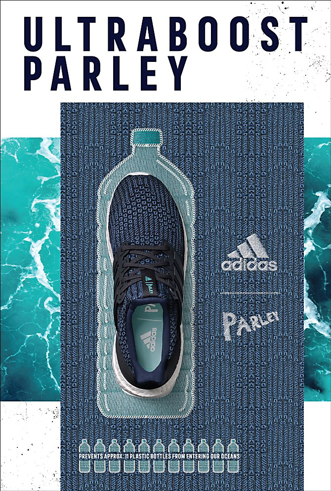 adidas UltraBoost Parley print ads | Sneaker posters, Shoe
