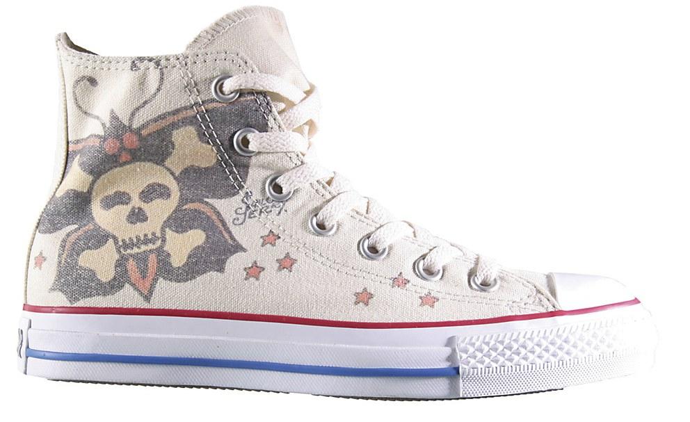 "84b9c776ff9f Converse Tattooed Shoes. """
