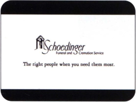 Schoedinger Funeral Homes Tv Spot Communication Arts