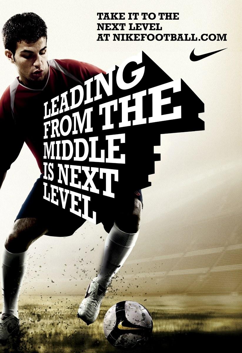 Prehistórico trono Joya  Nike Football print ads | Communication Arts