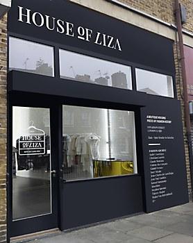 House of liza identity communication arts for House of liza
