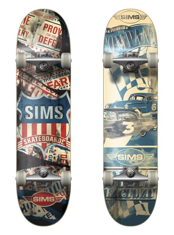 sims skateboard decks