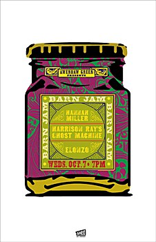 "Awendaw Green ""Barn Jam"" posters | Communication Arts"